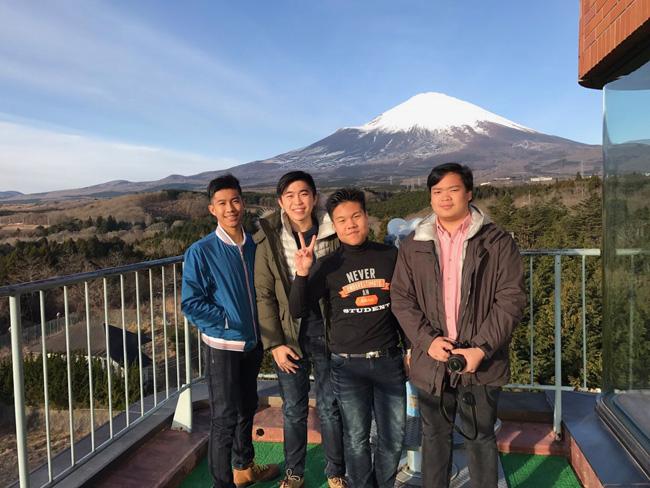 ได้เห็น ภูเขาไป ฟูจิ แบบใกล้ชิด