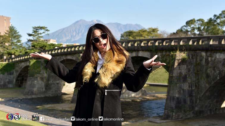 """""""ติ๊ก"""" พาเที่ยวจังหวัดคาโกชิมะ ชมวิวสะพานเก่า ใน """"เซย์ไฮ"""""""