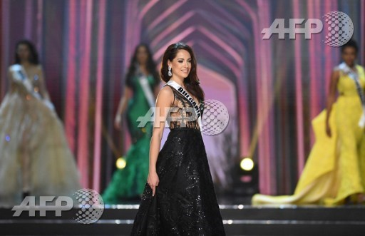724f76d2a7e2d This photo taken on January 26, 2017 shows Miss Universe contestant Violina  Ancheva of Bulgaria