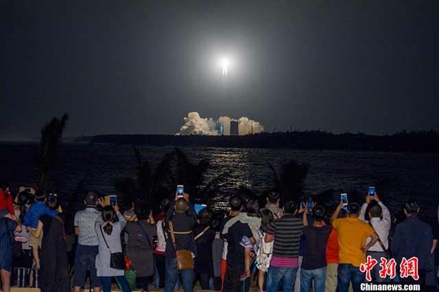 จีนเปิดศูนย์ปล่อยจรวด ให้ท่องเที่ยวชมบรรยากาศจริง