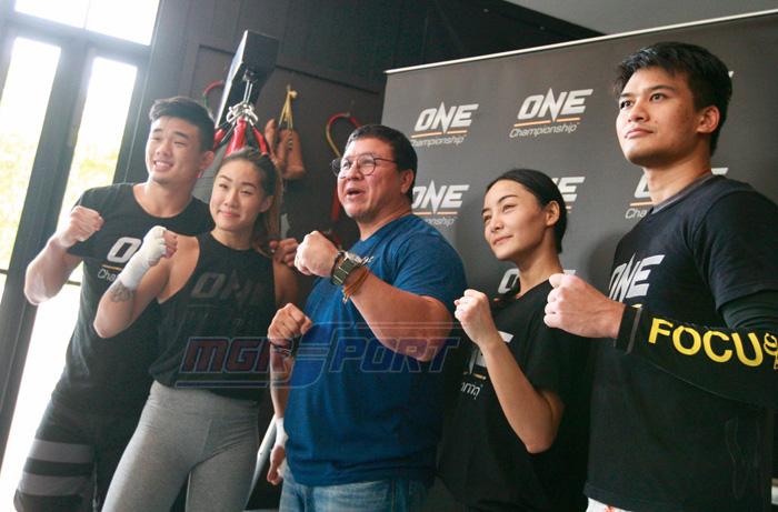 สุกี้ - กมล สุโกศล แคลปป์ ประธานจัดการแข่งขัน ONE Championship ประเทศไทย