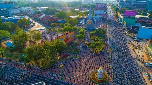 อลังการ! ชาวขอนแก่น 3.5 หมื่นคนร่วมรำดอกคูนเสียงแคน 220 ปีมหานครขอนแก่น(ชมคลิป)