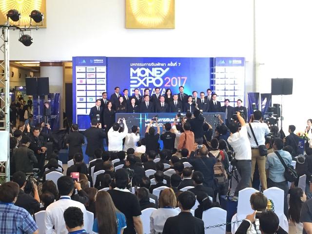 เปิดมหกรรมการเงิน Money Expo พัทยา ครั้งที่ 7 สานนโยบายระเบียงเศรษฐกิจ ตอ.