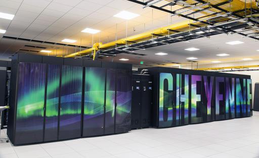 Cheyenne, the climate supercomputer
