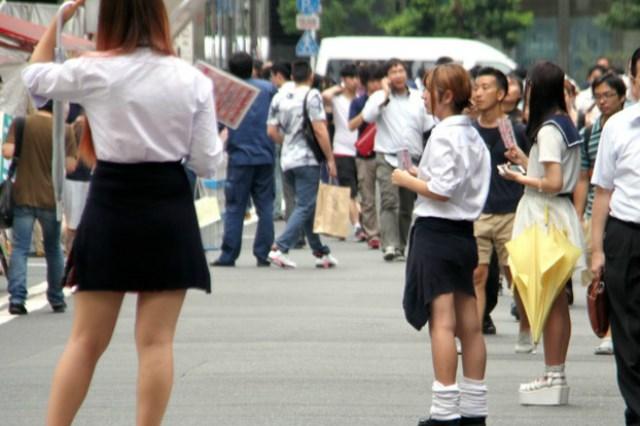 """ญี่ปุ่นสำรวจพบ ธุรกิจนักเรียนมัธยมสาวครึ่งหนึ่งแอบแฝง """"ค้ากาม"""""""