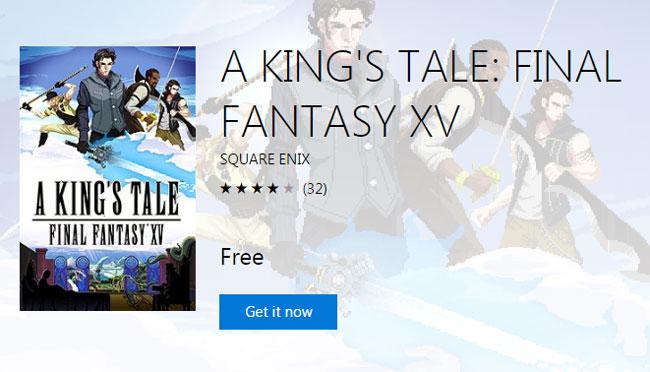 """A King's Tale: Final Fantasy15"" เปิดโหลดฟรีแล้วบน PS4-XboxOne"