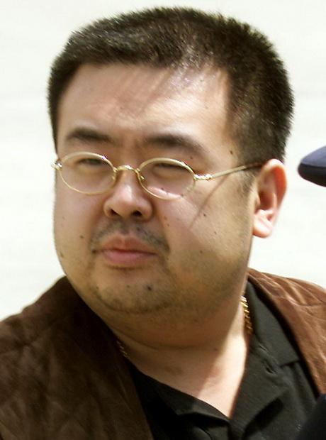 คิม จองนัม พี่ชายต่างมารดาของ คิม จองอึน ผู้นำเกาหลีเหนือ ซึ่งเสียชีวิตที่สนามบินกัวลาลัมเปอร์ เมื่อวันที่ 13 กุมภาพันธ์
