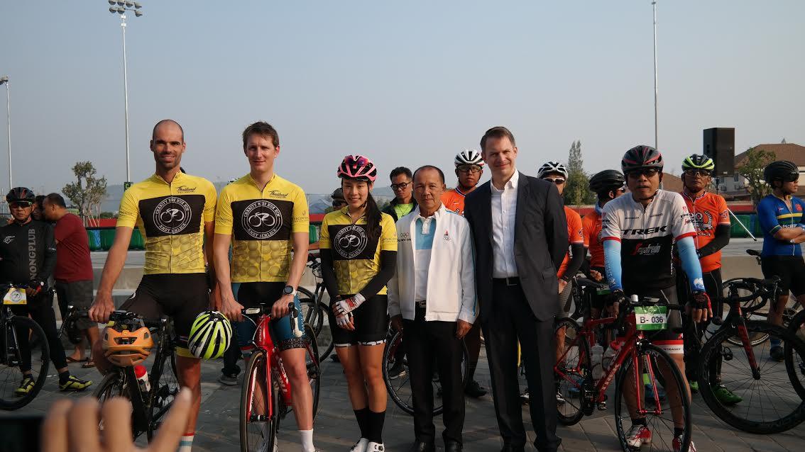 แชมป์ ตูร์ เดอ ฟรองซ์ ปั่นจักรยานการกุศลครั้งแรกที่ประเทศไทย