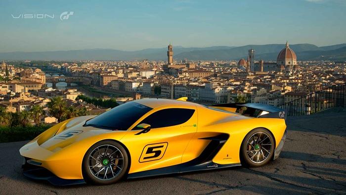 """Gran Turismo Sport"" เปิดตัวรถเอ็กคลูซีฟออกแบบโดยตำนานนักขับ F1"