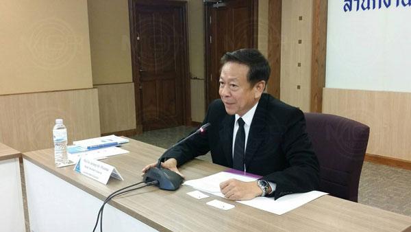 พ.ต.อ.จรุงวิทย์ ภุมมา รักษาการแทนเลขาธิการคณะกรรมการการเลือกตั้ง (แฟ้มภาพ)
