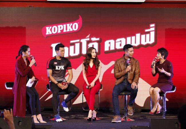 """โกปิโก้ จับสามขวัญใจคนไทย 'เวียร์ – ขวัญ – กวินทร์' เปิดตัว """"โกปิโก้ คอฟฟี่""""  กาแฟพร้อมดื่มรสเข้มของคนจริง"""