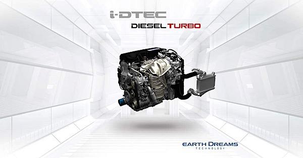 สุดยอดขุมพลัง 1.6L i-DTEC DIESEL TURBO หนึ่งในนวัตกรรมการขับเคลื่อนอัจฉริยะจากฮอนด้า
