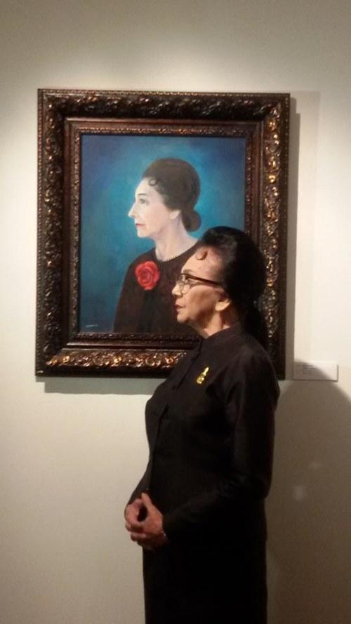 """""""ชีวิตนี้อยากเป็นแค่คนเขียนรูป"""" ลาวัณย์ อุปอินทร์ ศิลปินแห่งชาติ วัย 81 ปี"""