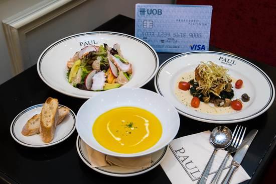 ชิม 6 เมนูอร่อยของ PAUL ด้วยโปรโมชันดีๆ ของบัตร UOB