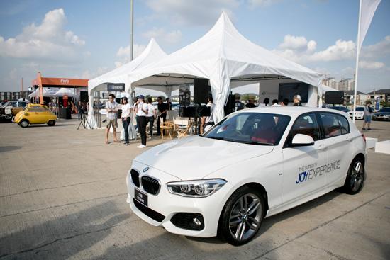 แค่ลงทะเบียนแสดงความเป็นเจ้าของรถ BMW ที่ www.BMWultimateJOY.com ก็มีสิทธิลุ้นรับ BMW 118i M Sport คันนี้ไปขับฟรีๆ!