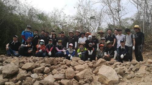 CPF รวมพลังพนักงานจิตอาสา สร้างฝายเตรียมปลูกป่าเขาพระยาเดินธง