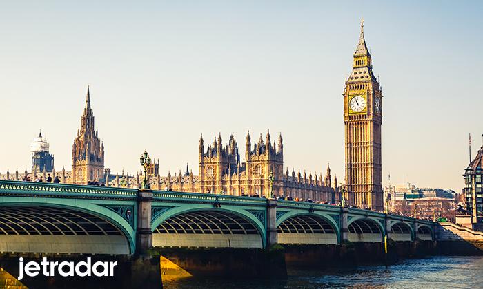 ลอนดอนเป็นจุดมุ่งหมายยอดฮิตข้ามทวีป