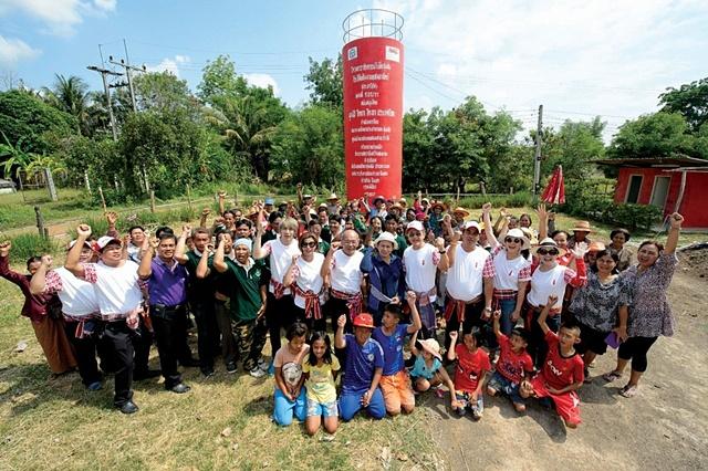"""โคคา-โคลา ชู """"บ้านโนนข่า"""" ชุมชนยั่งยืนภายใต้โครงการรักน้ำ"""