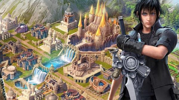 """มาแล้ว! """"FF XV: A New Empire"""" เกมสร้างอาณาจักรไฟนอลฯบนมือถือ"""