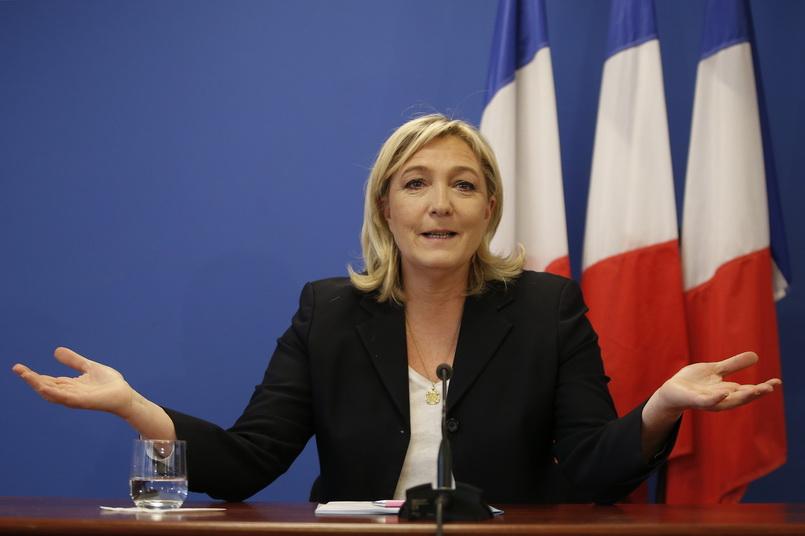 มารีน เลอแปน ผู้สมัครประธานาธิบดีฝรั่งเศสจากพรรคขวาจัด ฟรอนท์ เนชันแนล