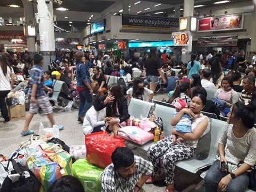 บขส.คาดวันนี้(12 เม.ย.) ประชาชนเดินทางมากสุด 180,000 คน