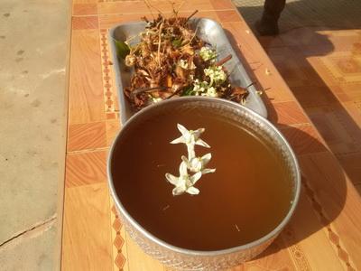 """ทำเองง่ายๆ """"น้ำหอมไทยโบราณ""""ใช้สรงน้ำพระวันขึ้นปีใหม่ไทย"""
