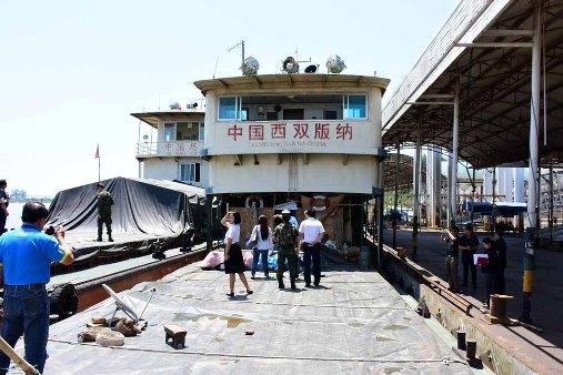 มาแล้ว! จีนส่งเรือ 7 ลำ 60 กว่าชีวิต เดินหน้าสำรวจร่องน้ำ-แก่งโขง