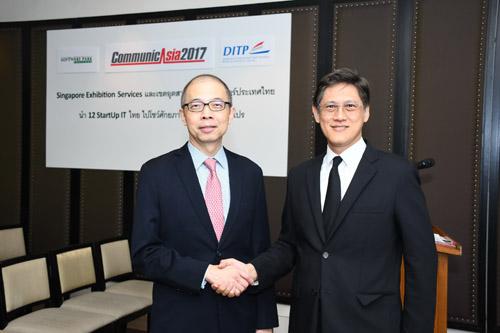 ซอฟต์แวร์พาร์ค สวทช. นำStartup ร่วมงาน CommunicAsia 2017 ประเทศสิงคโปร์