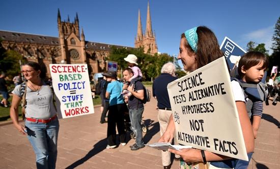 Australia, New Zealand kick off global science rallies