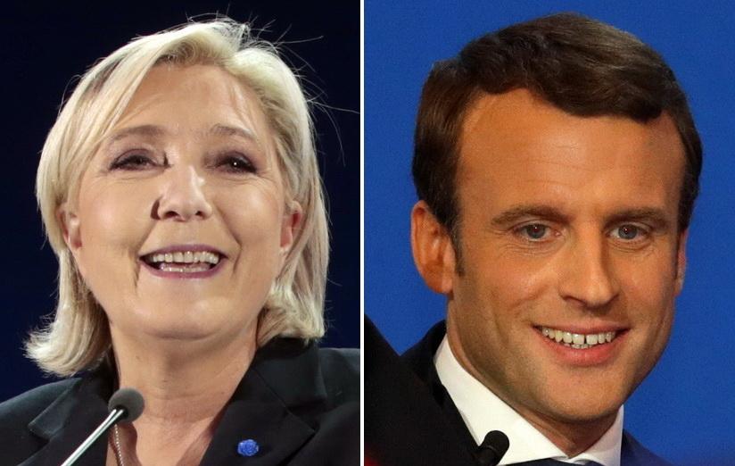 """สื่อนานาชาติเชียร์ """"มาครง"""" ซิวบัลลังก์ผู้นำฝรั่งเศส แต่ต้องไม่ประมาท """"เลอแปน"""""""
