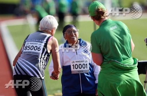 No hurry as India's inspirational centenarian wins gold