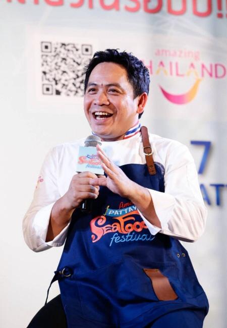เชฟชุมพล ชวนชิมสุดยอดความอร่อย  Amazing Pattaya Seafood Festival 2017