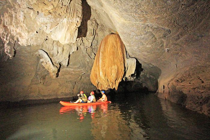 หินงอกหินย้อยรูปร่างแปลกตาในถ้ำเลสเตโกดอน