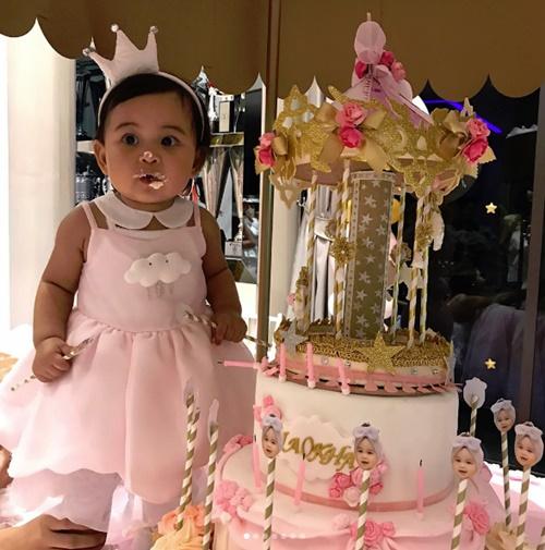 """น่ารักสุดๆ วันเกิดปีแรก """"น้องเจ้าขา"""" ลูกสาว """"กระแต"""""""