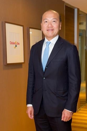 นายธีรพงศ์ จันศิริ ประธานเจ้าหน้าที่บริหาร บริษัท ไทยยูเนี่ยน กรุ๊ป จำกัด (มหาชน)