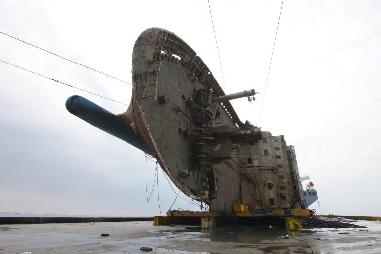 """งานนี้ไม่มั่ว! เกาหลีใต้เจอชิ้นส่วนคล้าย """"กระดูกมนุษย์"""" ติดอยู่ในซากเรือเซวอล"""