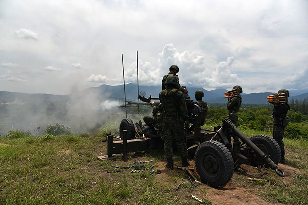 <br><FONT color=#00003>ภาพจากเฟซบุ๊กกรมทหารปืนใหญ่ กองพลนาวิกโยธิน </b>