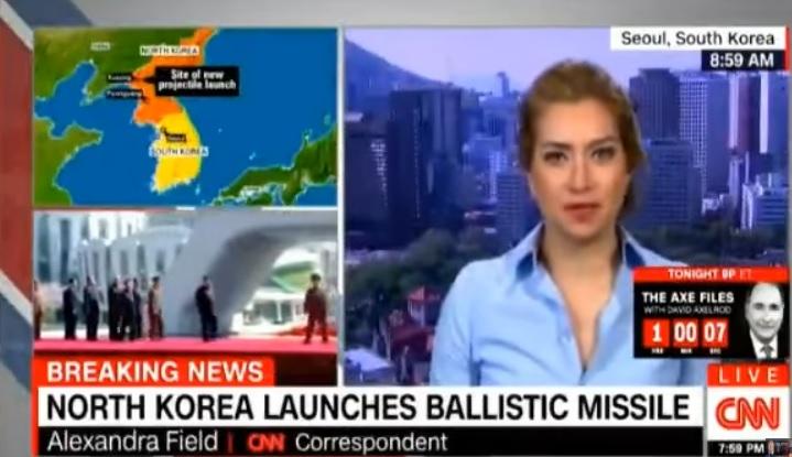 """ด่วน!! """"เกาหลีเหนือ"""" ยิงขีปนาวุธเช้านี้ พุ่งไกล 700 ก.ม  ระดับความสูง 2,000 ก.ม   ท้าทายเสนอเปิดโต๊ะเจรจาปธน.เกาลีใต้คนใหม่ – ญี่ปุ่นยังไม่กล้าฟันธง """"ทดสอบสำเร็จ"""" ส่วนสหรัฐฯมึนจัด ยังไม่รู้ประเภทจรวด"""