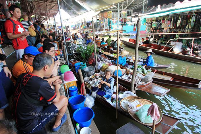ตลาดน้้ำดำเนินฯ ราชบุรี