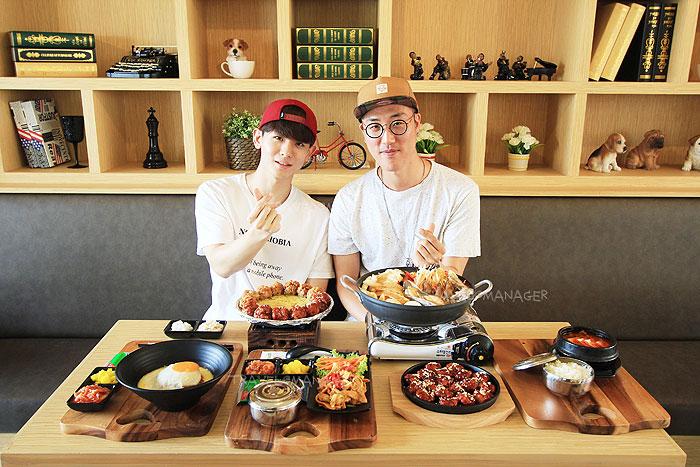 """โอปป้าชวนกินอาหารเกาหลีต้นตำรับที่ร้าน """"Landmark Of Rangsit"""""""