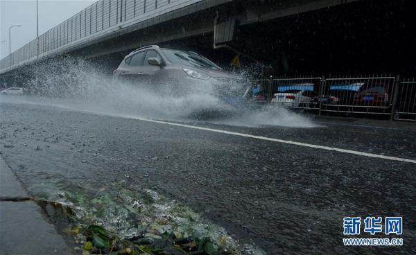 นครเซี่ยงไฮ้อาจจะต้องเผชิญกับพายุไต้ฝุ่นขนาดใหญ่ถึง 3 ลูก (แฟ้มภาพซินหวา)