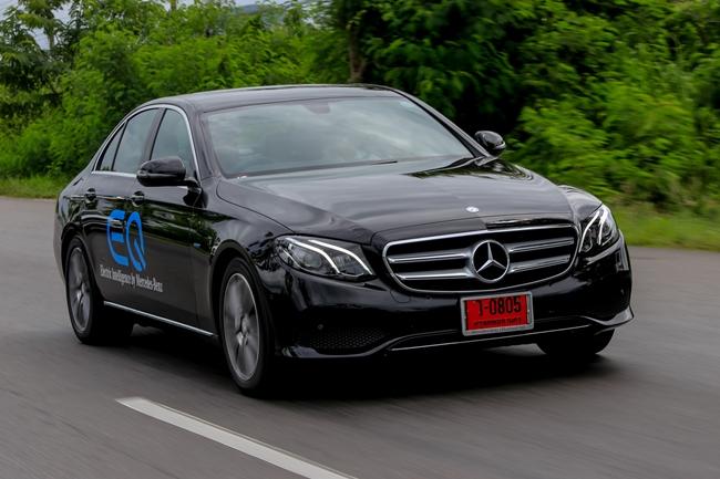 Mercedes-Benz E350e ลงตัว คุ้มค่า กับไฟฟ้าปลั๊กอิน