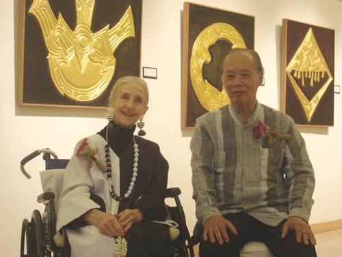 """อาลัย """"เวเนเซีย วอล์คกี้ (วนิดา วงศ์สาม)"""" พุทธประติมากรคู่ชีวิตศิลปินแห่งชาติ """"อินสนธิ์ วงศ์สาม"""""""