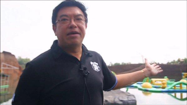 นายพิชิต สุจริตจินดานนท์ ผู้จัดการสวนน้ำแคนยอนวอเทอร์ปาร์ค บ้านแพะขวาง อ.หางดง จ.เชียงใหม่