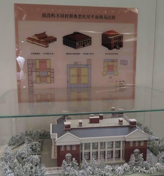 ภาพเปรียบเทียบแบบอาคารแบบเก่าในแต่ละช่วงยุคของกู่ล่างอี่ว์ (ภาพ MGR ONLINE)