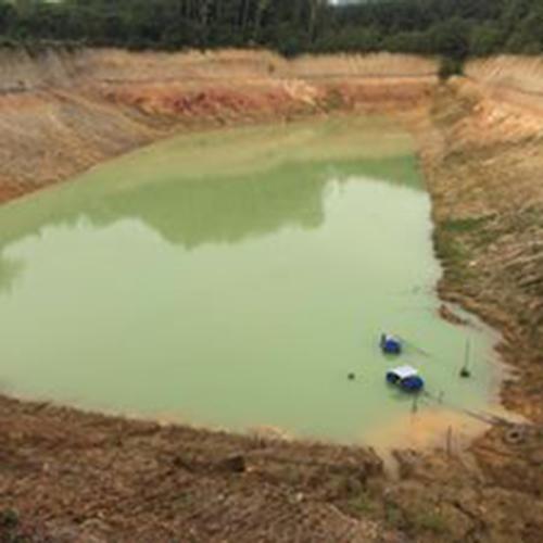 ที่ดินแปลงที่จะนำมาแลกเปลี่ยน บางแปลงเป็นบ่อลูกรังที่ขุดดินขายไปหมดแล้ว
