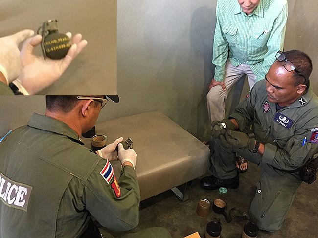 """คุมตัว 17 ทหาร-พลเรือนเครือข่ายอันตราย """"สอบเครียด"""" พบส่งระเบิด-กระสุน 15 จังหวัด"""