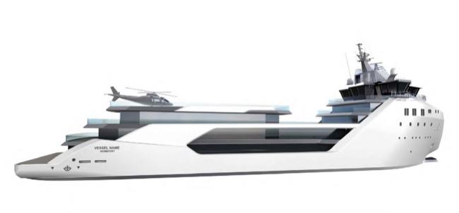 """แต่งตัวใหม่! เปลี่ยนโฉมเรือขนสินค้ารุ่นดึกเป็นเรือ """"ซูเปอร์ยอชต์"""" 62 ล้านดอลล์"""