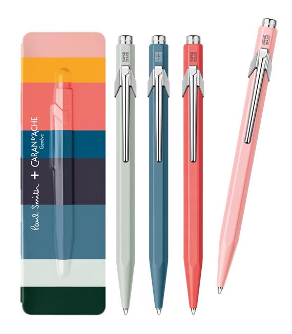 ปากกา CARAN D' ACHE รุ่น 849 PAUL SMITH ราคา 1,640 บาท