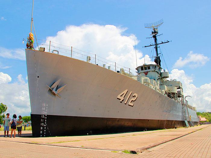 เรือหลวงประแส 412 แห่งชุมชนประแส ระยอง